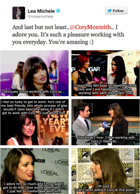 Lea on working with Cory