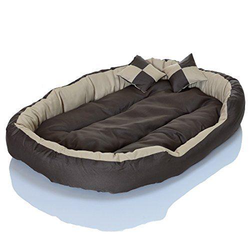 4in1 hundebett xxl kuscheliges waschbares hundekissen. Black Bedroom Furniture Sets. Home Design Ideas