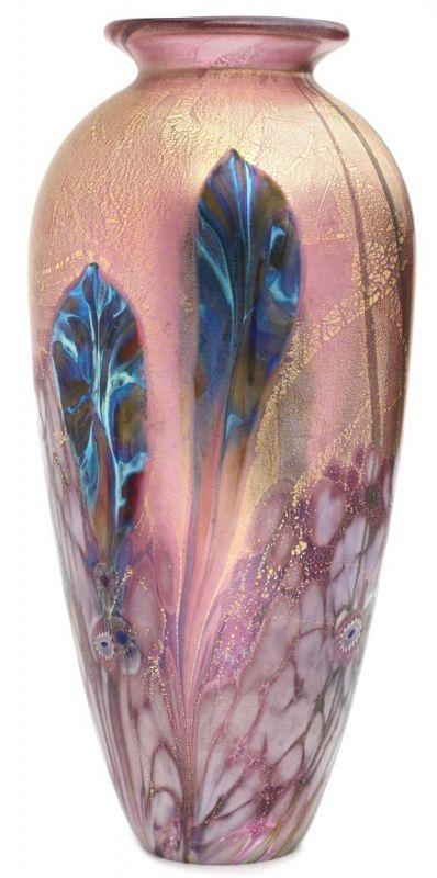 Eden Ruby Glass Vase by Jonathan Harris