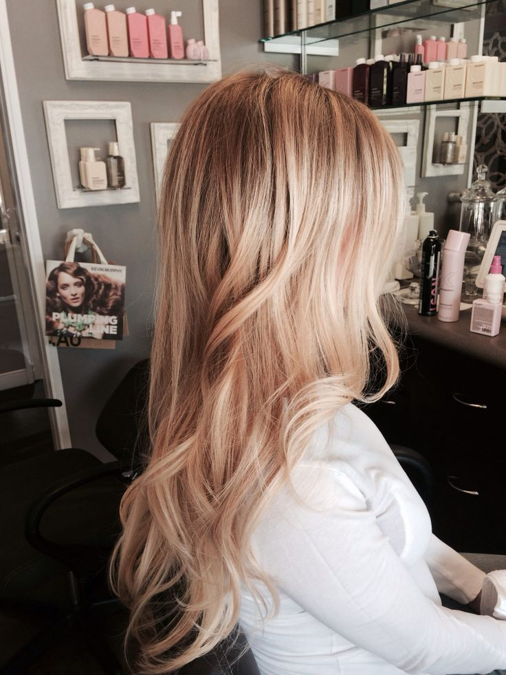 Beautiful Dimensional Summer Blonde Created With Beige And