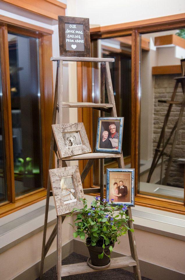 Beautiful memory display. Photo by Christina Stirpe