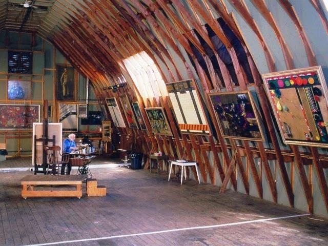 Video Tour of Daniel Greene's House & Studio  www.stevenderks.com