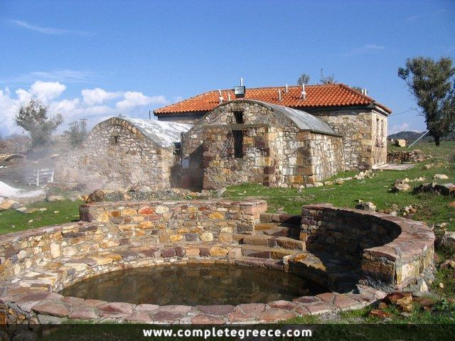 Hot springs of Polichnitos - Polichnitos - Lesbos - #Greece
