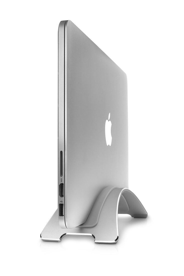 Amazon.com: Twelve South BookArc for MacBook, silver | Space-saving vertical desktop stand for Apple notebooks: Computers & Accessories