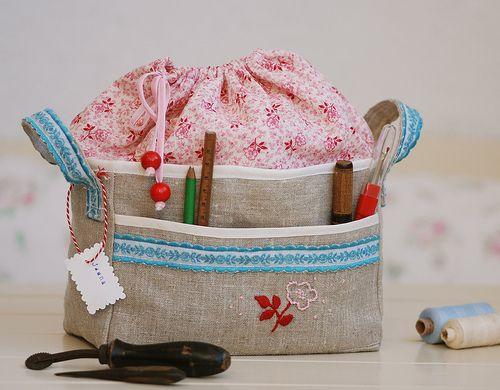 Kids first sewing kit