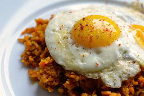 Whole30 Day4: Sweet Potato Hash & Eggs