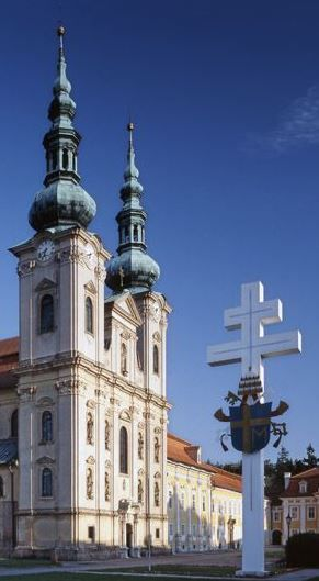The basilic of the Assumption of Holy Virgin Mary, St.Cyril and Methodius in Velehrad, Czechia