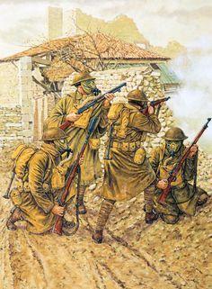 1918 US Doughboys at Consenvoye, October 9, 1918
