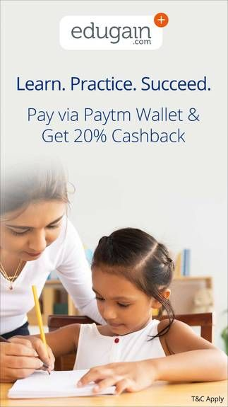 Get Upto Rs.200 cashback @Edugain when you pay via Paytm Wallet