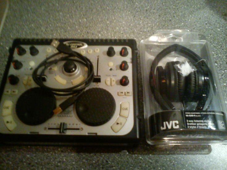 Hercules DJ Control MP3 (Gebraucht) + DJ Kopfhörer von JVC (Neu & OVP)