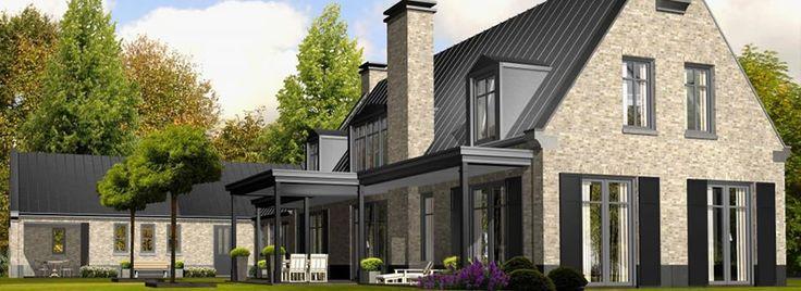 Zinken dak achterzijde plannen nieuwbouw pinterest for Huizen ideeen