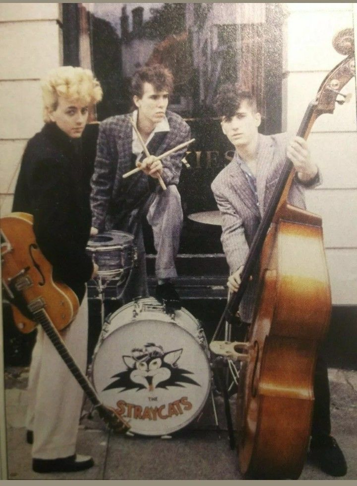 Pin by Lucy Rey on Stray Cats Cats, Rockabilly, Psychobilly