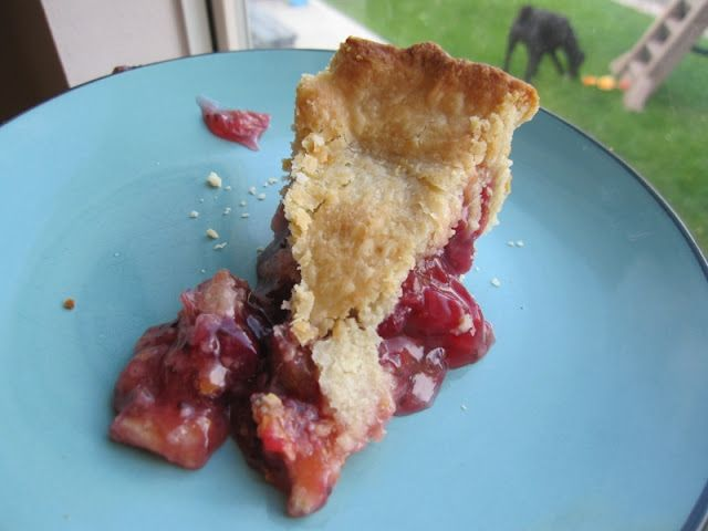 "Homemade Gooseberry Pie {The Beating Hearth} ""I would compare this pie to a tart cherry pie...but better"""