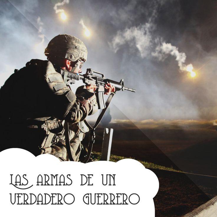 No volverás a #temer.  [http://iglesiashaddai.tumblr.com/post/69518031290/las-armas-de-un-verdadero-guerrero]