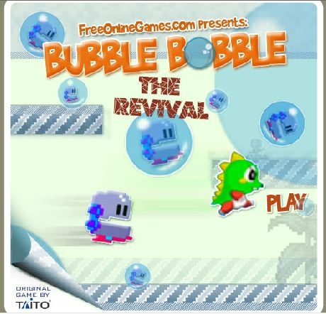 Jeux Video Flash Gratuit Bubble Bobble Revival