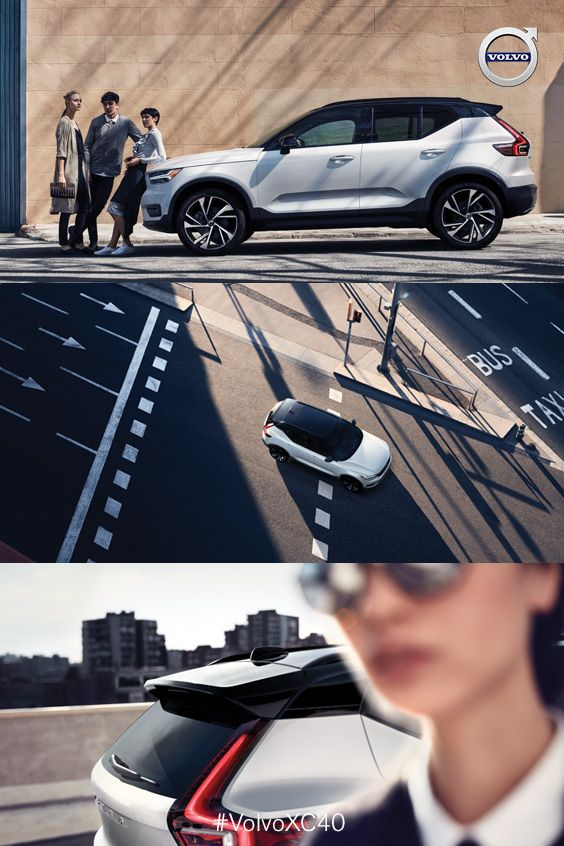 The 2019 New XC40 SUV | Designed for the city with you and your busy