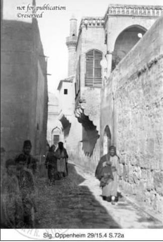 Eski Urfa sokağı 1900'ler...