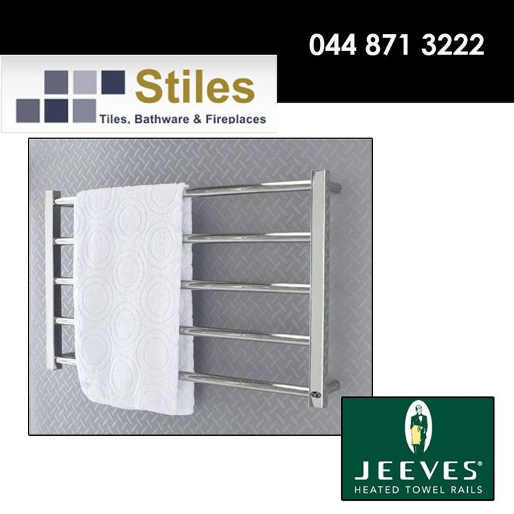 Let Stiles assist you with creating the perfect bathroom, we stock a wide variety of Jeeves Heated Towel Rails some of which are bound to attract your attention. #homeimprovement #lifestyle