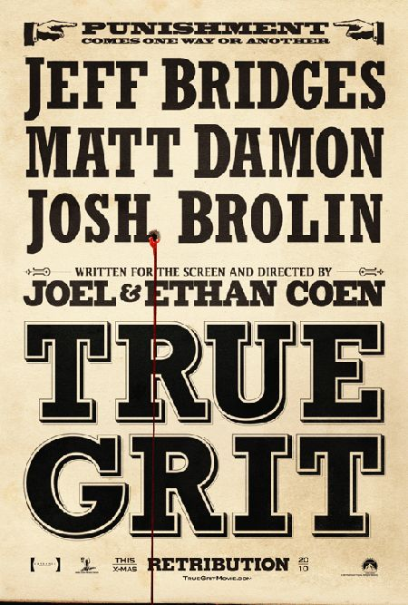Someone Shot The True Grit Teaser Poster and Now It's Bleeding | North Hollyhood