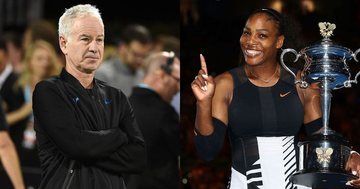 Tennis legend John McEnroe thinks Serena Williams would rank 700th in the world if she was a man