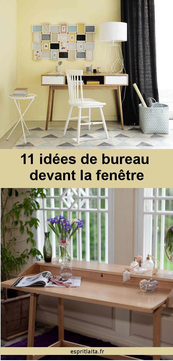 11 Idees De Bureau Devant La Fenetre L Amenagement Du Bureau Est Un Sujet Serieux Quand On Travaille A La Ma Idee De Decoration Idee Bureau Mobilier De Salon
