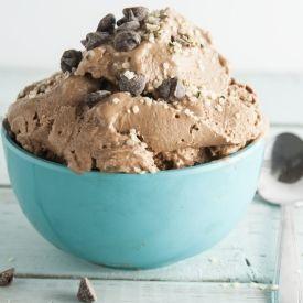 5 Minute Vegan Ice Cream (No Coconut) [The Humble Plate] eat365.com.au