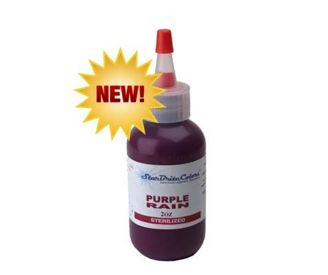 Starbrite Tattoo Ink - Purple Rain 1 Oz - TAT2 Supplies.