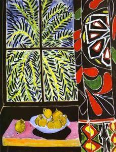 Le rideau égyptien - (Henri Matisse)                                                                                                                                                                                 Plus
