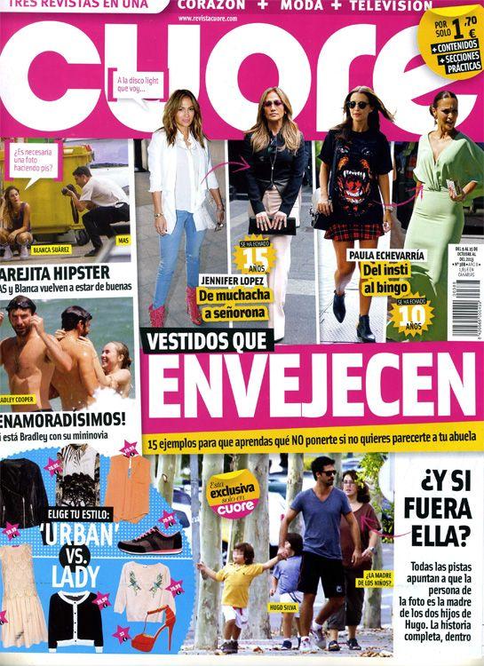 Cuore muestra a la posible madre de los hijos de Hugo Silva