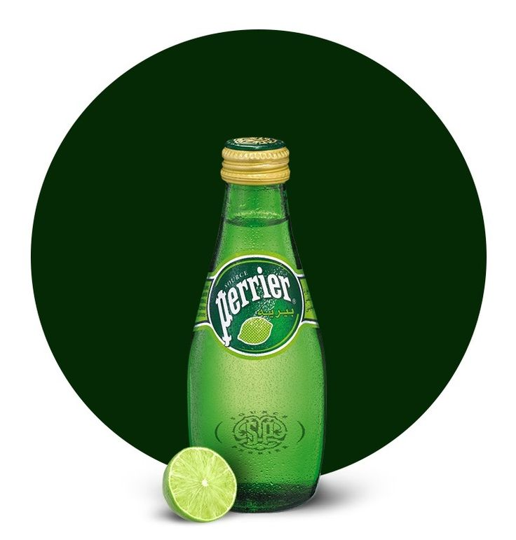 perrier. – Perrier is a French brand of natural bottled mineral water captured at the source in Vergèze, located in the Gard département. Perrier is best known for its naturally occurring carbonation, distinctive green bottle, and higher levels of carbonation than its peers.