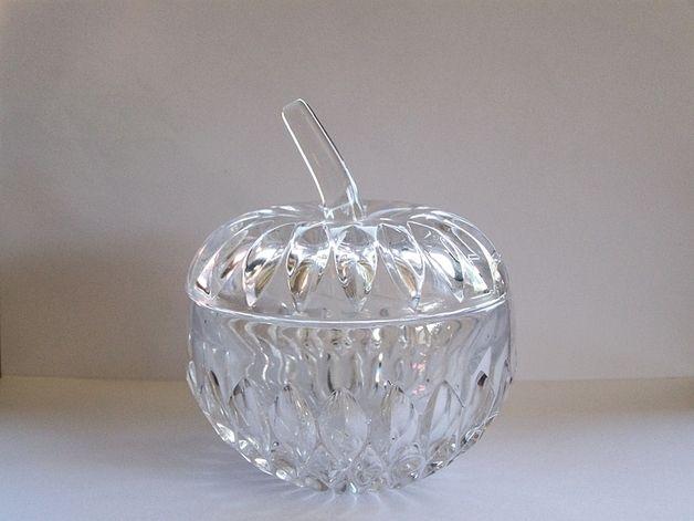 Marmeladendose Apfel aus  Kristall