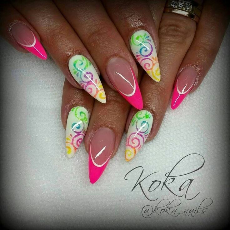 327 best neon images on pinterest neon neon tetra and nail scissors summer nail art summer nails gel nail art art nails nail polish nail nail neon nails pink nails nail art designs prinsesfo Images