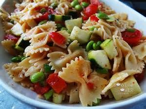 Bow Tie Pasta Salad with Italian Dressing - Bing images
