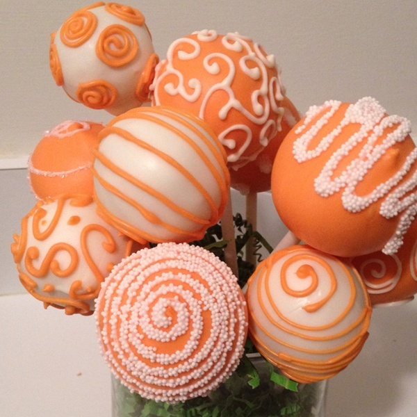 Birthday Cake Pops & 318 best Cake Pops images on Pinterest | Petit fours Treats and ...