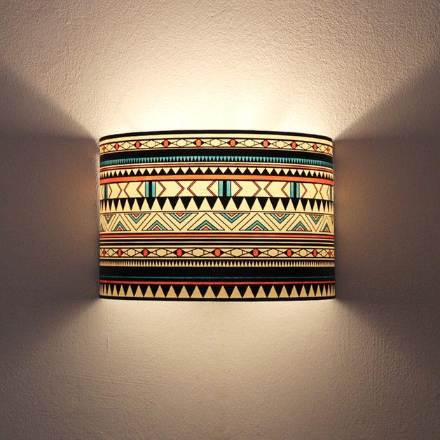 Wall Lights – Aplique de pared, lámpara de pared, luz de pared – a unique product by LuzdePapel on DaWanda