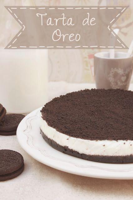 Tu medio cupcake: Tarta de Oreo: fácil, rápida y buenísima!!