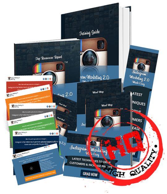 Instagram Marketing 2.0 Biz in a Box Monster PLR Review