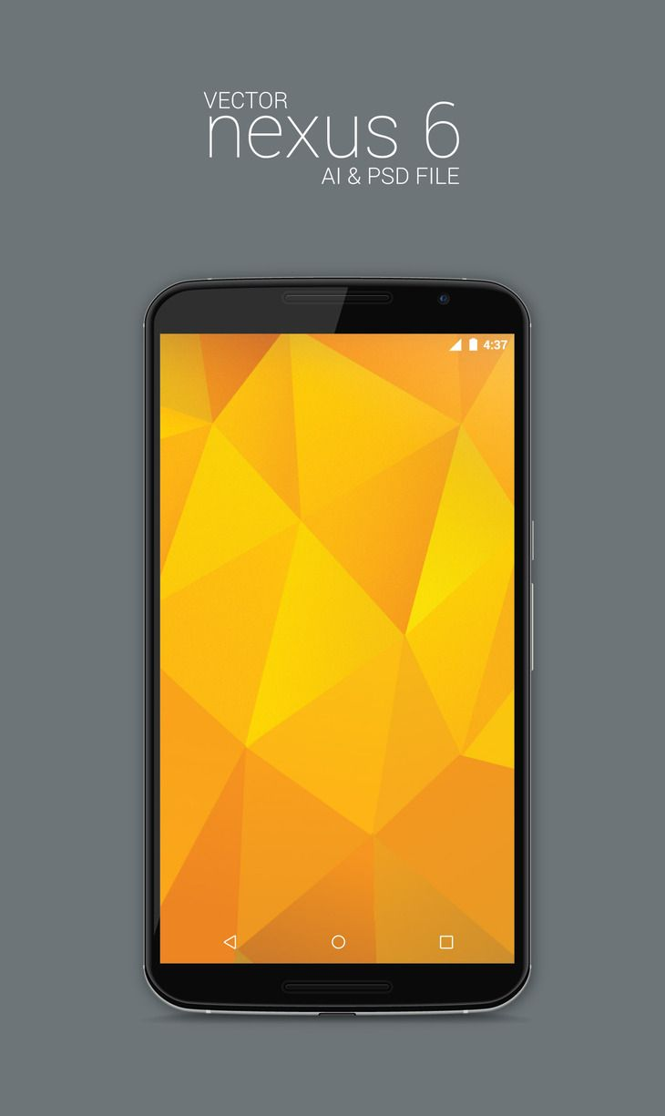Free Vector Nexus 6 Model Mockup (Ai & Psd) (443 KB) | graphberry.com