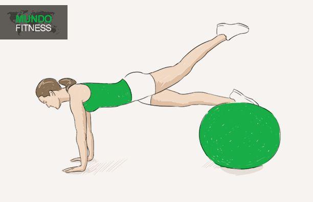 Ejercicios para adelgazar con fitball