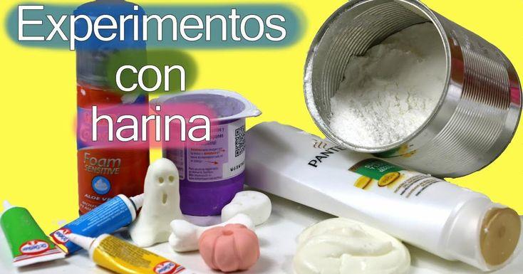 3 experimentos caseros para hacer plastilina con harina