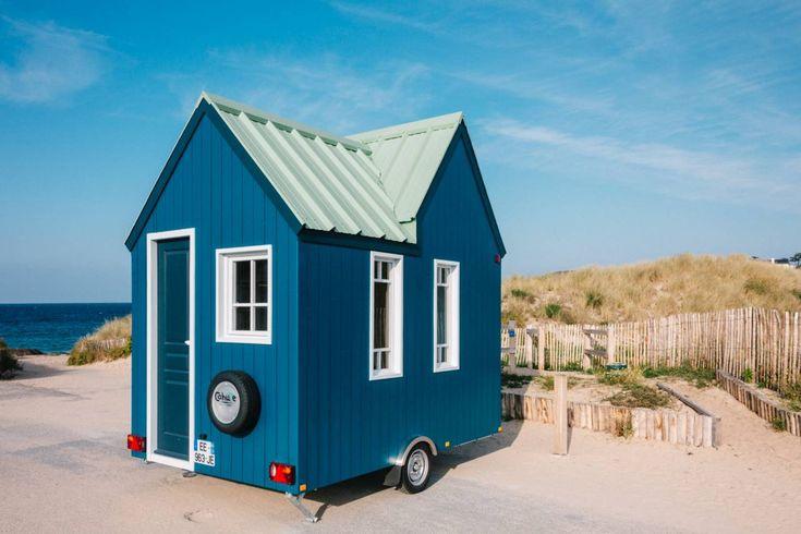 Cette micro maison mobile se nomme CAHUTE et contrairement à ses grandes sœurs elle bénéficie d' un avantage...