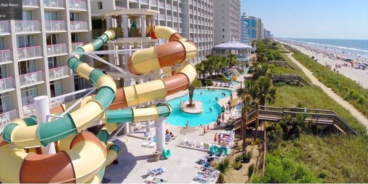 Crown Reef Resort & Waterpark offers great water features and amenities without breaking the budget.