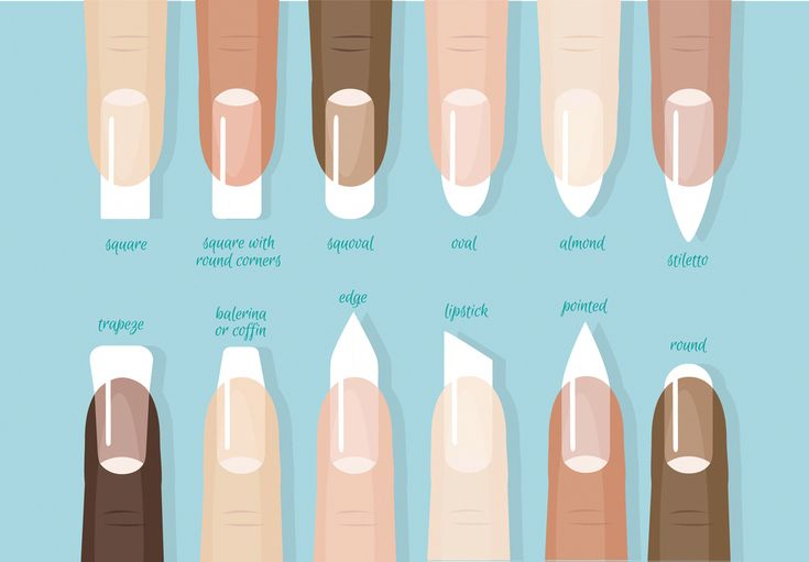 fake nail shapes Squares #shortnailshapes – diy nails