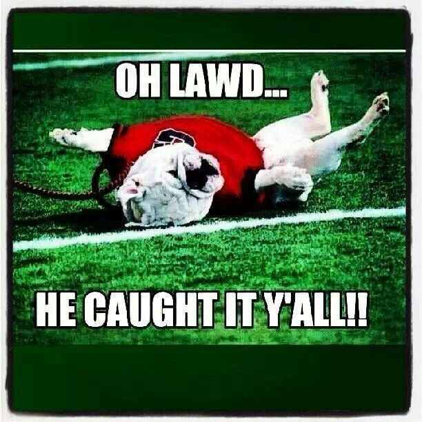 Uga reacts to Recardo Louis catching a tipped pass in the AU vs GA game in 2013!     For Great Sports Stories and Audio Podcasts, Visit our Blog at www.RollTideWarEagle.com