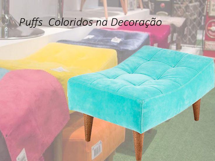 Puff é sinônimo de conforto, seja no quarto, na sala. Ter um Puff colorido já é moderno, bonito e super na moda. Além disso, deixa o local mais charmoso. #Móveis #Puffs #Decoração #PuffsColoridos #DecoraçãoColorida #MóveisColoridos #Colorido #AdoroPresentes