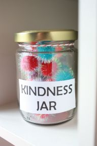 The Kindness Jar- ways to encourage kindness from Playhood