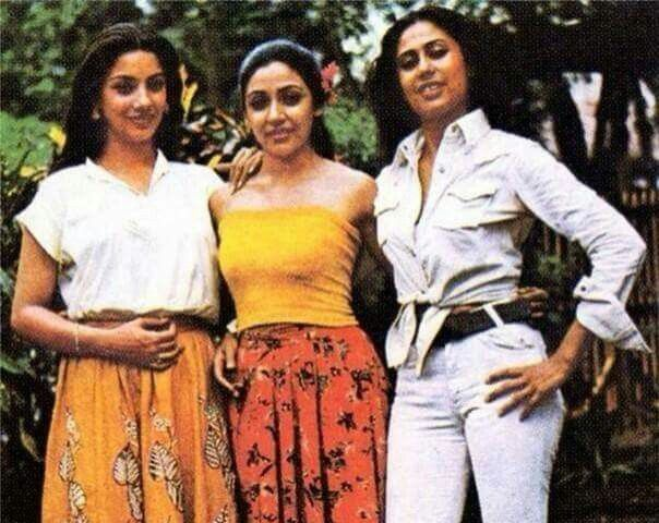 Queens of Intelligent art cinema in India in 80s and 90s... Shabana azmi..deepti naval.. smita patil
