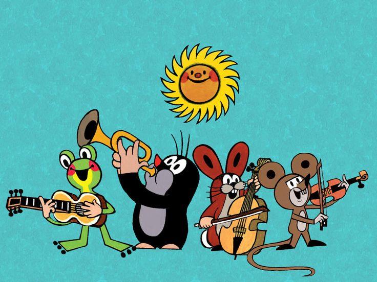 (2014-07) #Muldvarpen spiller musik sammen med frøen, haren og musen