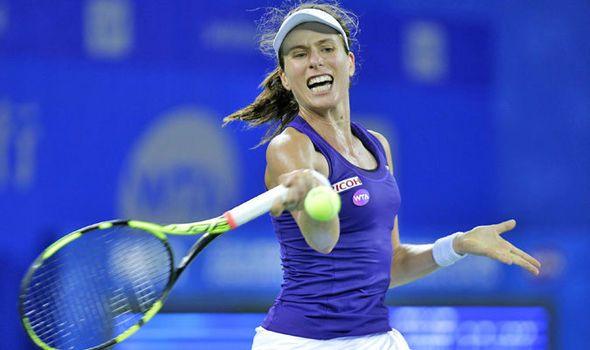 Johanna Konta edging closer to WTA Finals spot after reaching Wuhan Open quarter-finals