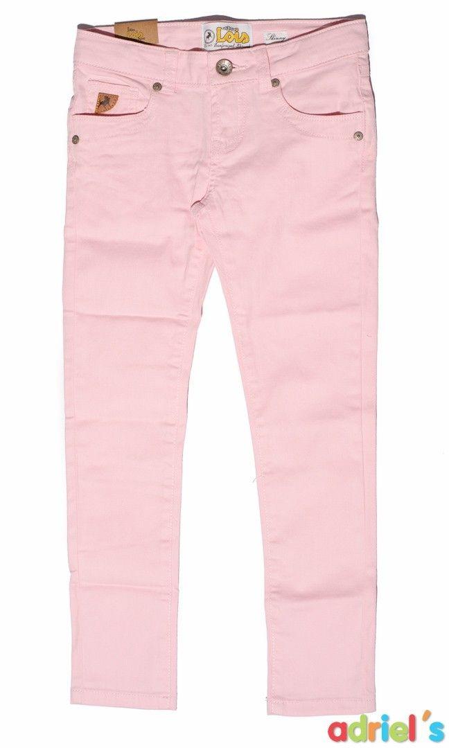 c1f34fbcc Pantalones rosas para niña de Lois Jeans | OUTLET MODA INFANTIL ...